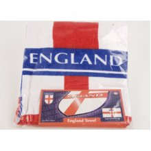 England Design Towel(70x140cm) In Pp Bag W/card Insert. - Towel70x140cm Wcard -  england design towel70x140cm pp bag wcard insert st george flag