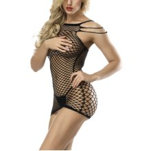 773207b67ae Ulily Women Lingerie Crotchless Fishnet Dress Bodystocking on OnBuy