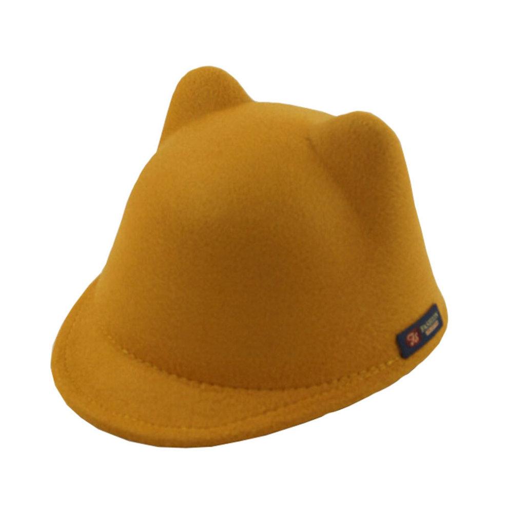 Sun Hat Winter Cat Ear Animal Equestrian Ears Cap With Devil Horns Ear  Autumn  1ea108ea824