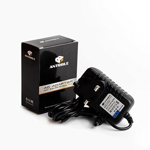 Antoble 9V Boss VE-20 ME-80 DS-1 Effects Pedal AC Mains Adapter Charger Power Supply Replacement