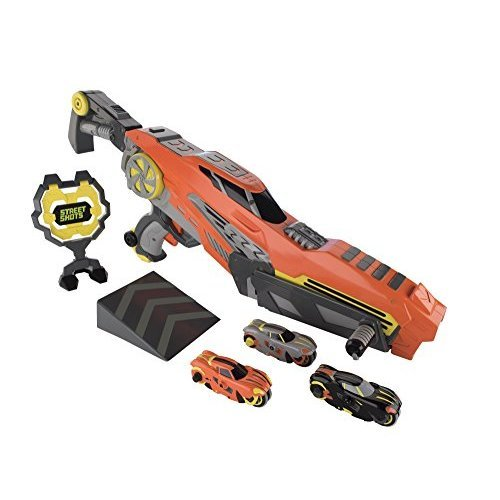 Blip Toys Street Shots Triple Shot Blaster Vehicle Set