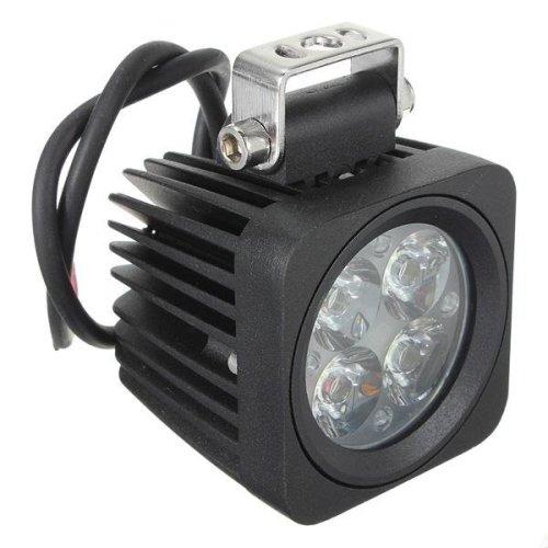 10W 4LED Modular Heavy Duty Spot Lamp Work Light Off Road Truck 12V