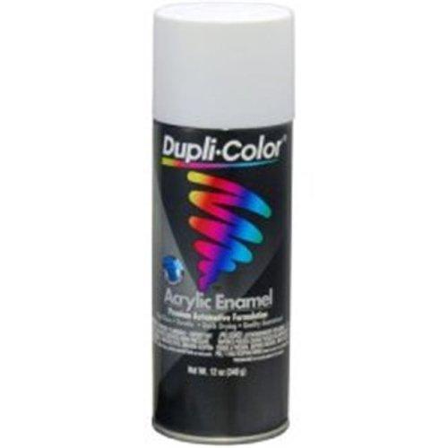Krylon DA1672 12 oz Dupli Color General Purpose Enamel Paint, Flat White