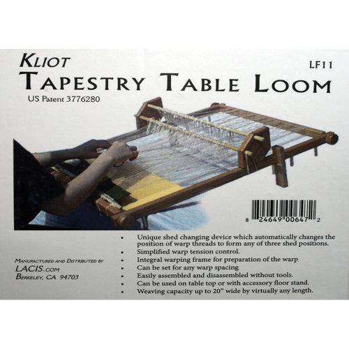 """Kliot Tapestry Loom 20""""-"""