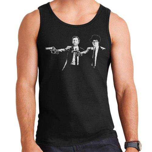 IT Crowd Roy And Moss Pulp Fiction Men's Vest