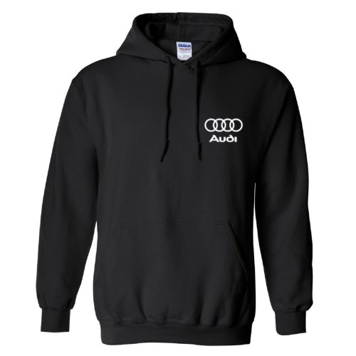 Audi Inspired Both Sides Logo Adult Hoodie