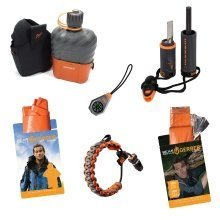 Gerber Bear Grylls Bushcraft survival kit - Fire starter - Canteen - paracord