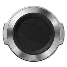 Olympus LC-37C Auto Lens Cap for M.ZUIKO DIGITAL 14-42mm 1:3.5-5.6 EZ Lens - Silver