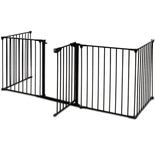 Baby Safety Fence Hearth Gate Pet Dog Cat Fireplace Fence