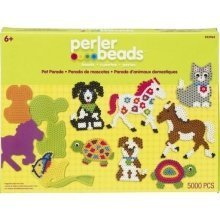 Prl53964 - Perler Beads - 5000 Pc Bead Set - Pet Parade