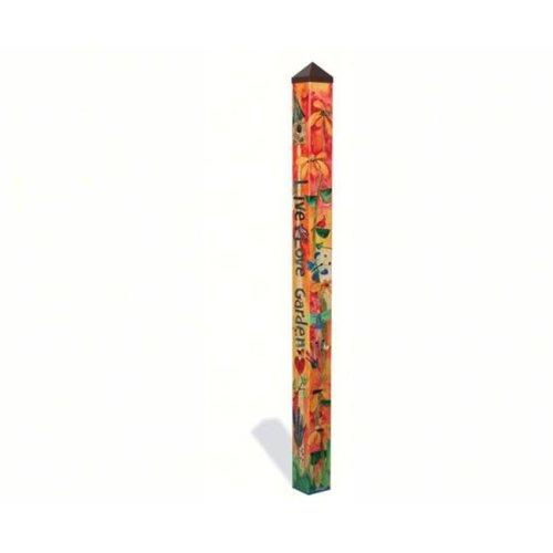 Magnet Works, Ltd. MAILPP215 Love Garden 6 ft Art Pole 5x5 + Freight