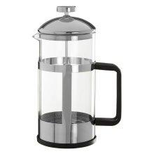 Leora Cafetiere, Silver, 1000 ml