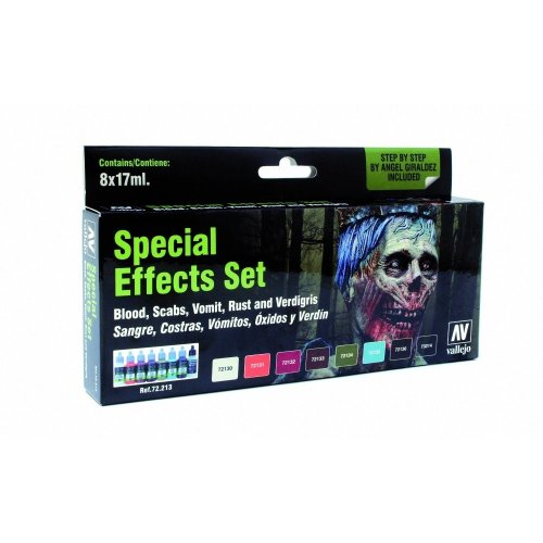 Val72213 - Av Vallejo Game Color - Special Effects Set (x8)