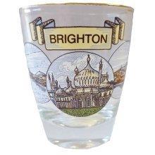 Brighton Scenes Mini Shot Glasses Souvenir Gift Hen Stag Party Wedding Birthday
