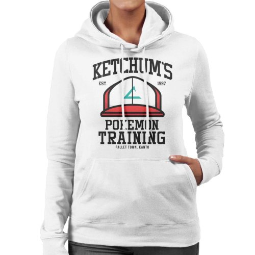 Ketchums Pokemon Training Women's Hooded Sweatshirt