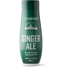 SodaStream Ginger Ale Concentrate Syrup 440ml