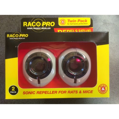 Sonic Rodent Repellers (TWIN PACK) - Repel Rats and Mice - No Poison Rodent Control