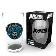 Asking Alexandria Logo Pint Glass
