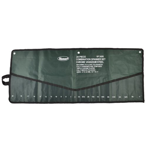 Tool Roll Spanner Storage Pouch Holder 24 Pocket MC21