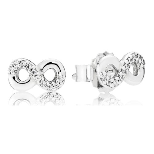 Pandora Infinite Love Stud Earrings - 290695CZ