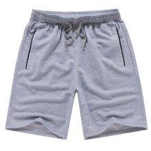 Quick-drying Pants Men Casual Boardshorts Holiday Loose Beach Shorts 4XL Gray