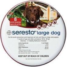Seresto Large Dog Flea & Tick Collar | 8kg+ Dog Tick Collar