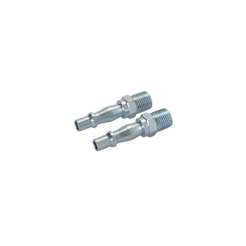 """Air Line Bayonet Male Thread Coupler 2pk - 1/4"""" BSP"""