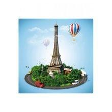 Wooden Puzzle - Collection Paris: Paris in Feast