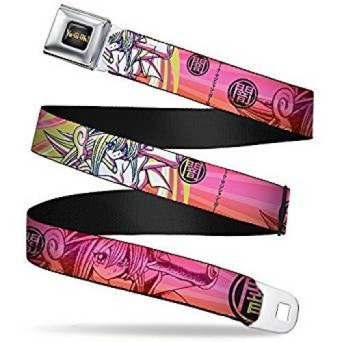 Seatbelt Belt - Yu Gi oh! - V.8 Adj 24-38' Mesh New yoa-wy0012