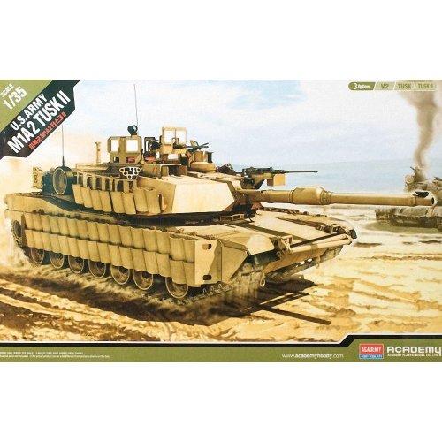 Aca13298 - Academy 1:35 - M1a2 Abrams Mbttusk I/ii V2 Us Army