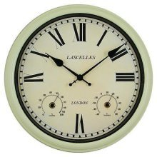Outdoor Garden Wall Clock by Roger Lascelles