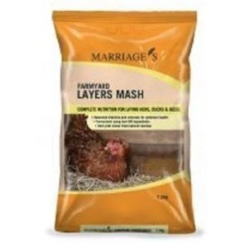 Marriages Specialst Foods Layers Mash, 7.5kg