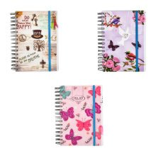 2018-2019 diary One Day to Page A5 Mid Year Diary