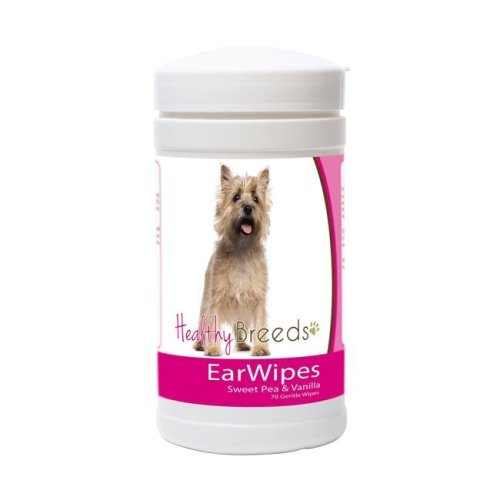 Healthy Breeds 840235150251 Cairn Terrier Ear Wipes