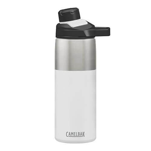 Camelbak 1515101060 Chute Mag Vacuum Insulated Bottle 20 Oz, White, 20oz