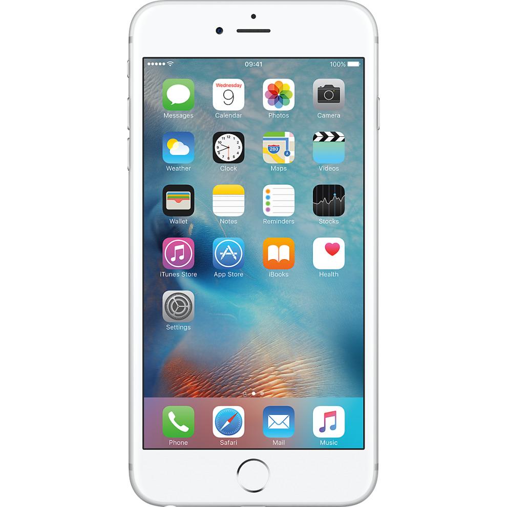 O2, 16GB Apple iPhone 6s Plus Silver