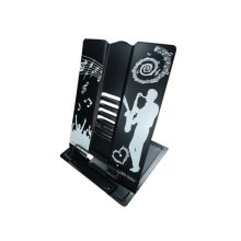 Creative Book Stand Reading Holders Bookends Book Racks, Bigger Black