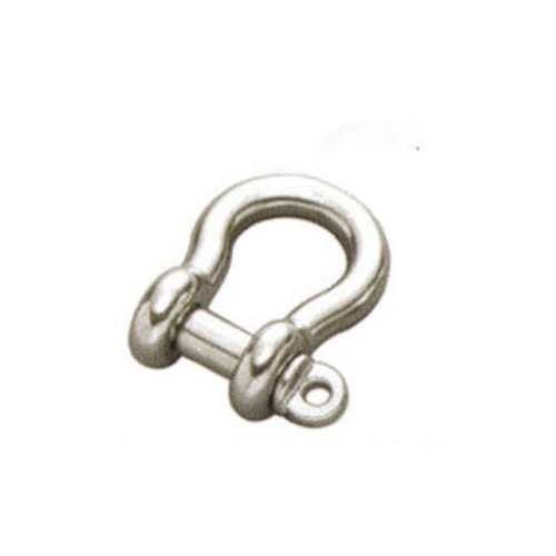 6mm STAINLESS STEEL 316 (A4) Bow shackle