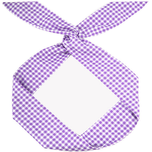 Adjustable Bow Japanese Styles Cross Hair Band Headband For Women, Purple,#3
