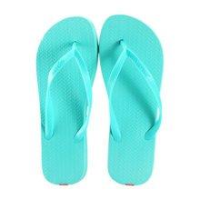 Unisex Casual Flip-flops Beach Slippers Anti-Slip House Slipper Azure Blue