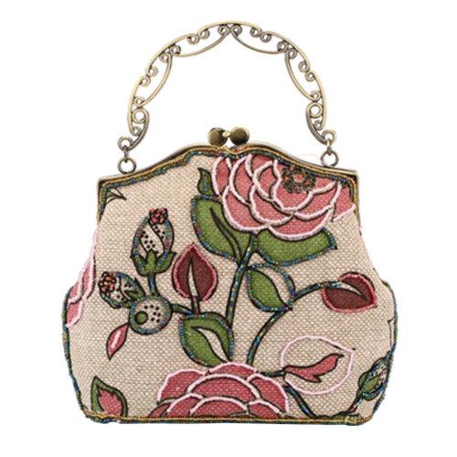 Women's Vintage Style Clutch Evening Bag Elegant  Luxurious Handbag Purse-Banquet-Cocktail Party,I