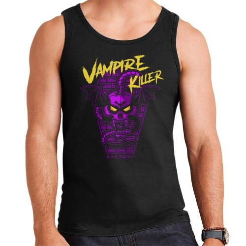 Vampire Killer Retro Castlevania Men's Vest
