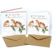 f14bb8065d7b Luxury Christmas Cards (WRE3033) - Christmas Mice - Box Of 8 - Wrendale  Designs