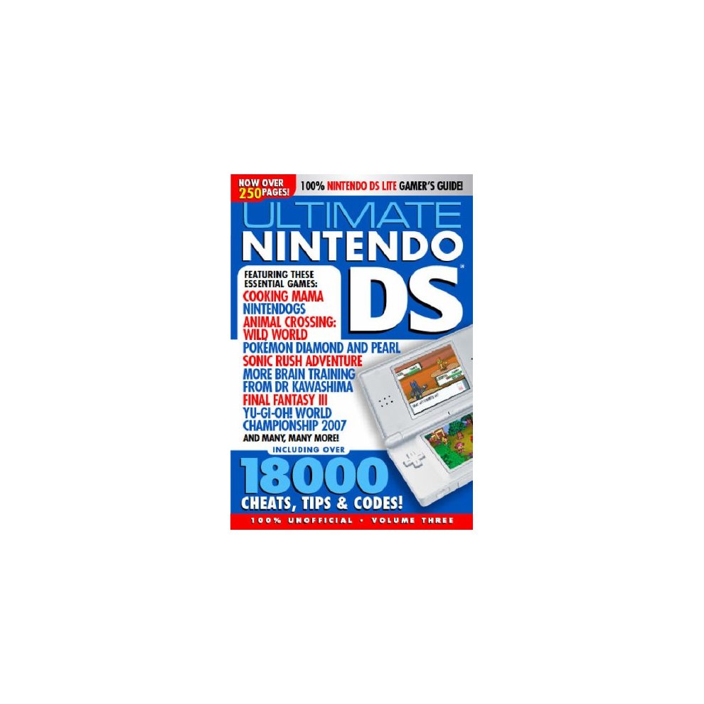 Ultimate Nintendo DS Cheats, Guides and Tips 2008 Edition: v  3