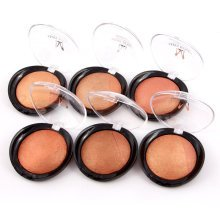 Miss Rose Bronzer Cover Blush Palette Face Makeup Baked Cheek Blusher Contour Shading