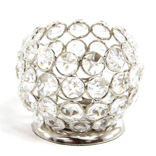 Globe Crystal Tealight Holders