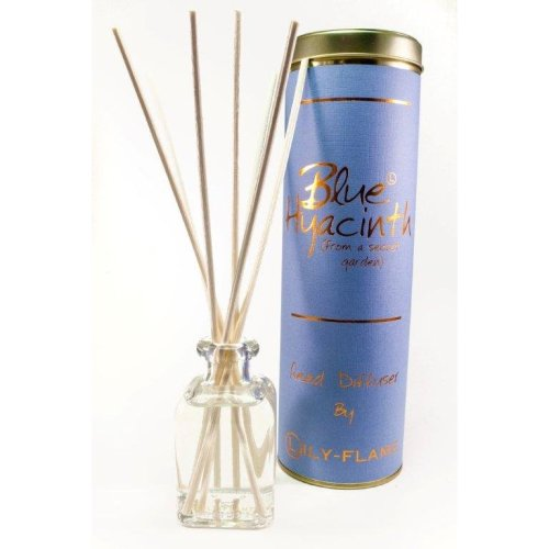 Lily Flame Reed Diffuser - Blue Hyacinth