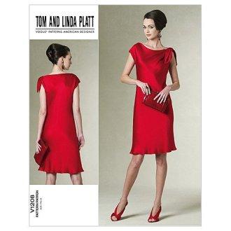 Misses' /Misses' Petite Dress-EE (14-16-18-20) -*SEWING PATTERN*