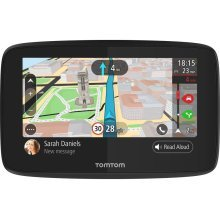 "TOMTOM GO 520 5"" Sat Nav with Worldwide Maps & Case Bundle"