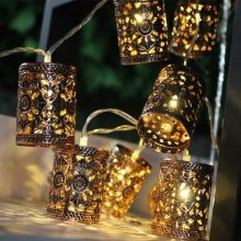 1.1M LED Retro Lantern String Lights
